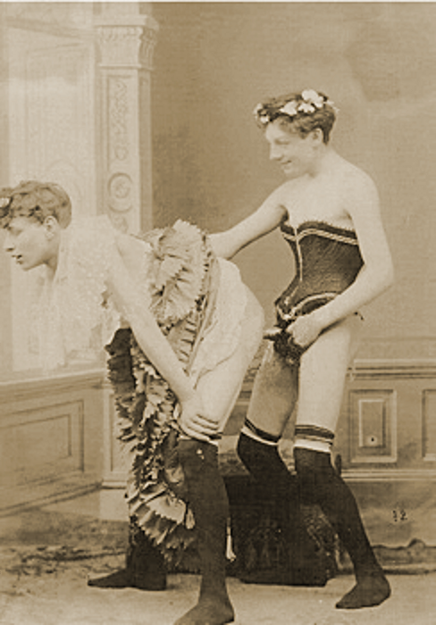 Sissification & Emasculation Vintage Fetish Pornography (no applicable copyrights present)