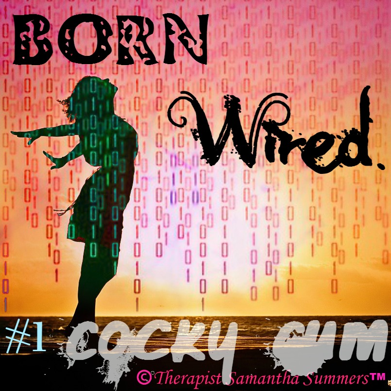 BUY Born Wired (Wired to be Wild) #1 Cocky Cum PTV button/thumbnail