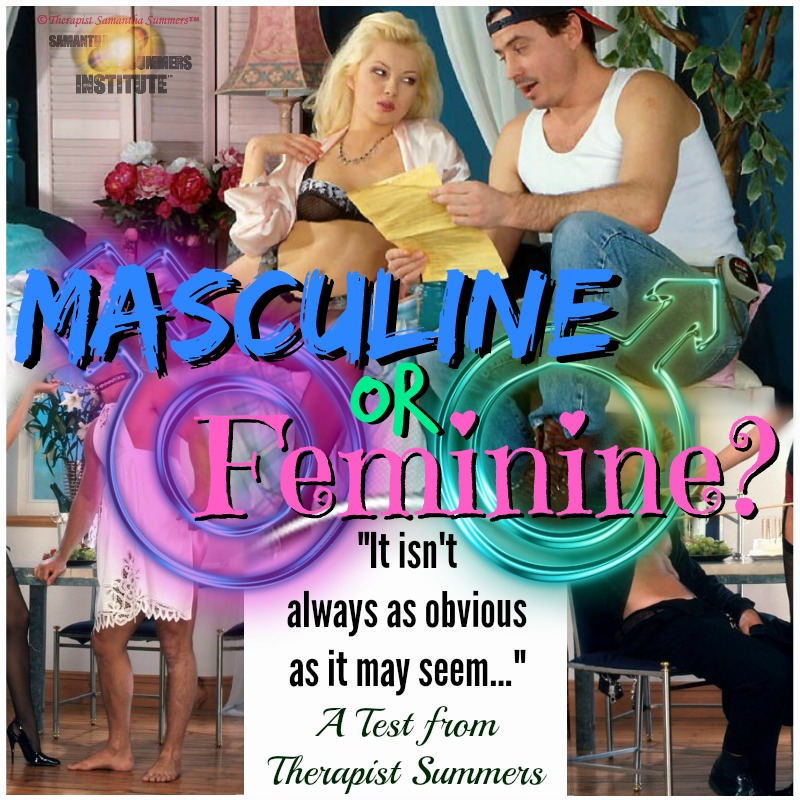 Masculine-Feminine Sexual Spectrum