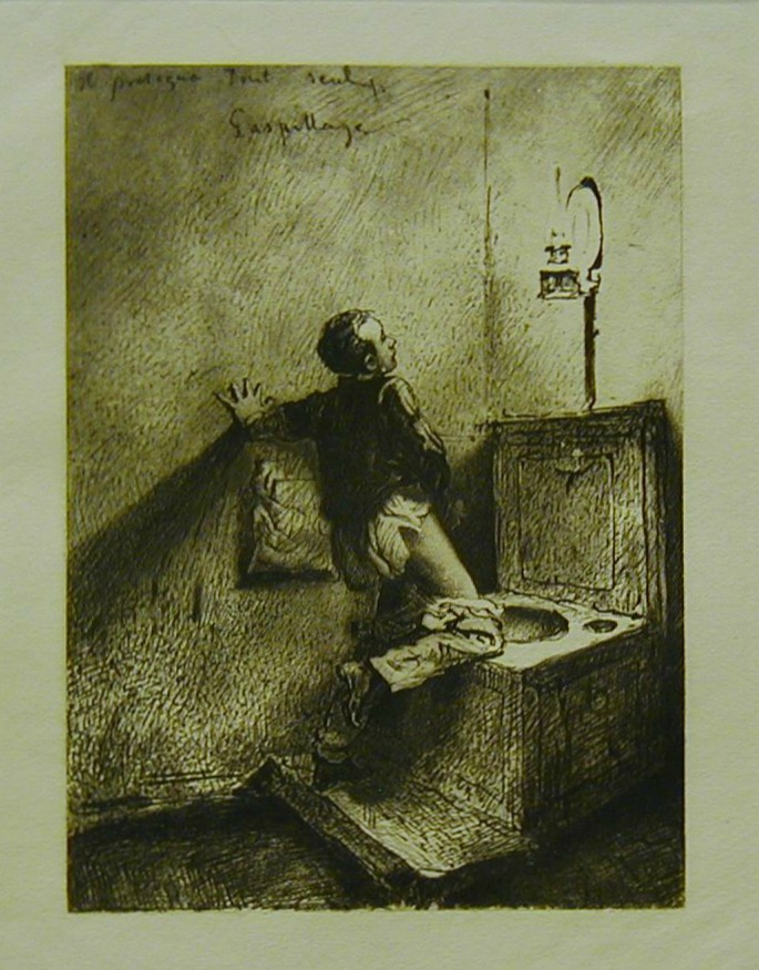 Masturbation in the 1800s (Drawing by Zichy - 1911)