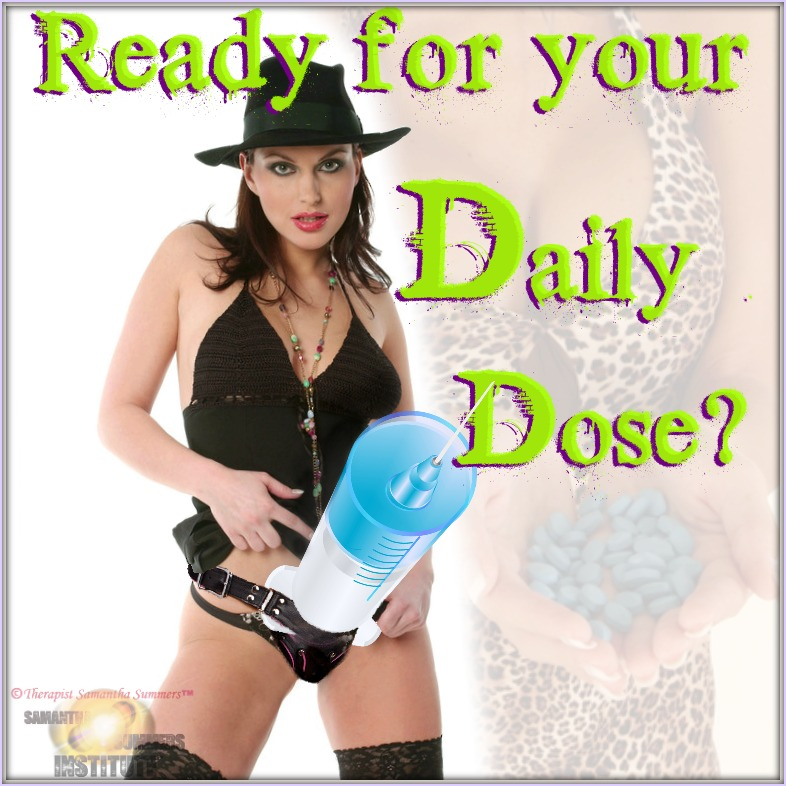 Therapist Samantha Summers Daily Dose Humiliation Tasks