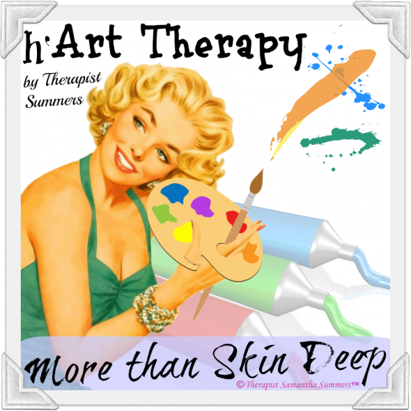 Art Therapy from the SSI (h'Art Therapy by Therapist Samantha Summers) Cover-photo - Copyrighted