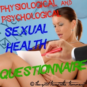 Sexual Health Questionnaire from Therapist Summers