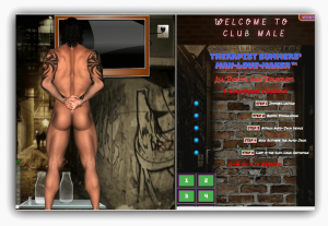 Club Male - SSI Man Love Maker Machine - Demo of Adult Interactive Program