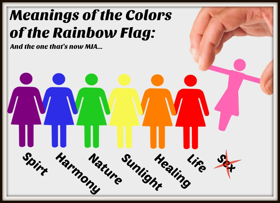LGBT Flag color meanings - by the Samantha Summers Institute