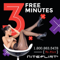 3 Free Minutes when joining Niteflirt