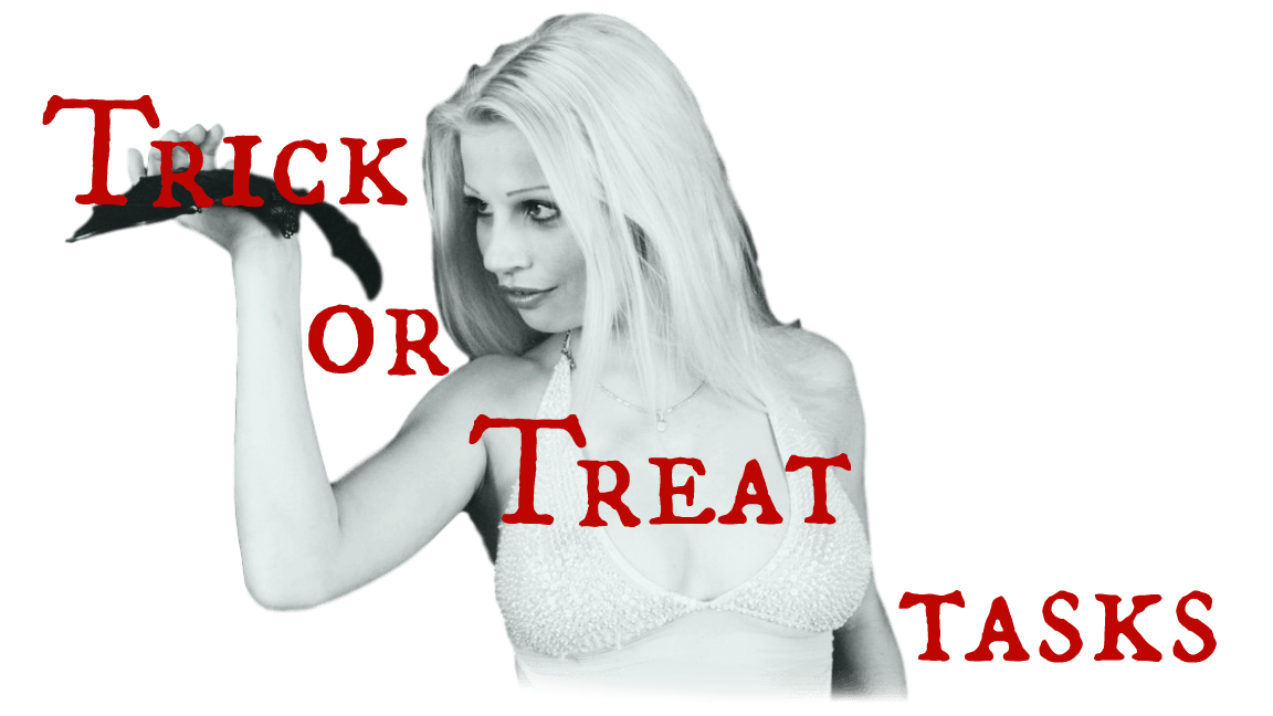 Trick or Treat Tasks of the SSI