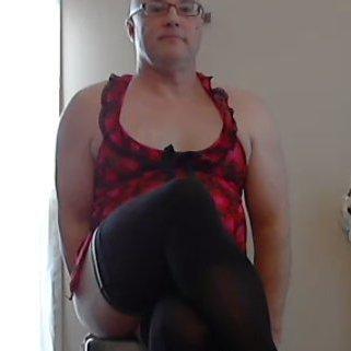 Butterballgurl sissy crossdresser porn