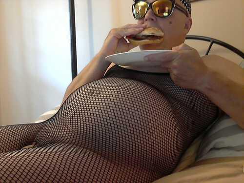 Butterballgurl BBW Sissy Feedee Feeder Porn